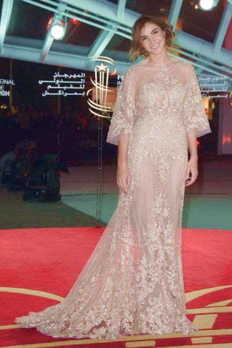 Актриса Клотильда Куро прибыла на 13-й международный кинофестиваль 1 декабря в Марракеше (Марокко). Фото: Dominique Charriau/Getty Images