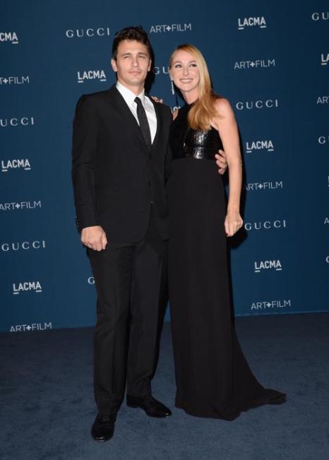 Актёр Джеймс Франко и креативный директор Gucci Фрида Джаннини на вечере LACMA Art + Film Gala 2013 в Лос-Анджелесе 2 ноября 2013 года. Фото: Jason Merritt/Getty Images for LACMA