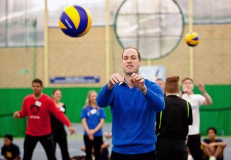 Британский принц Уильям посетил 4 декабря спортивную площадку проекта Coach Core в Лондоне. Фото: Ben Gurr - WPA Pool/Getty Images