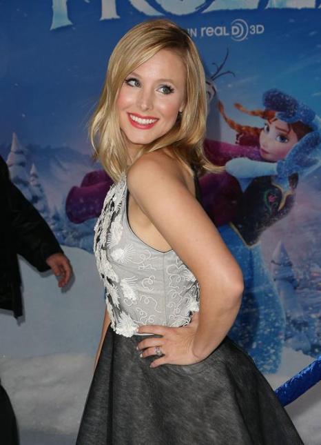 Актриса Кристина Белл (озвучившая персонаж Анну) на премьере мультфильма «Холодное сердце» от анимационной компании «Уолт Дисней» в Голливуде 19 ноября 2013 года. Фото: Frederick M. Brown/Getty Images