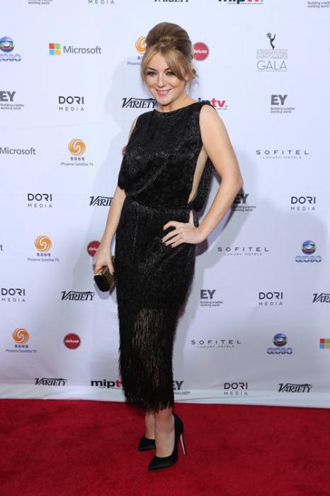 Кейт Болдуан посетила вручение международной премии Эмми (International Emmy Awards) 25 ноября 2013 года в Нью-Йорке. Фото: Neilson Barnard/Getty Images