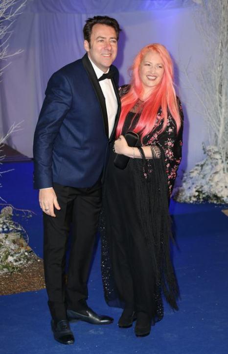 Джейн Голдман и Джонатан Росс на благотворительном ужине в  Кенсингтонском дворце 26 ноября 2013 года. Фото: Chris Jackson / Getty Images