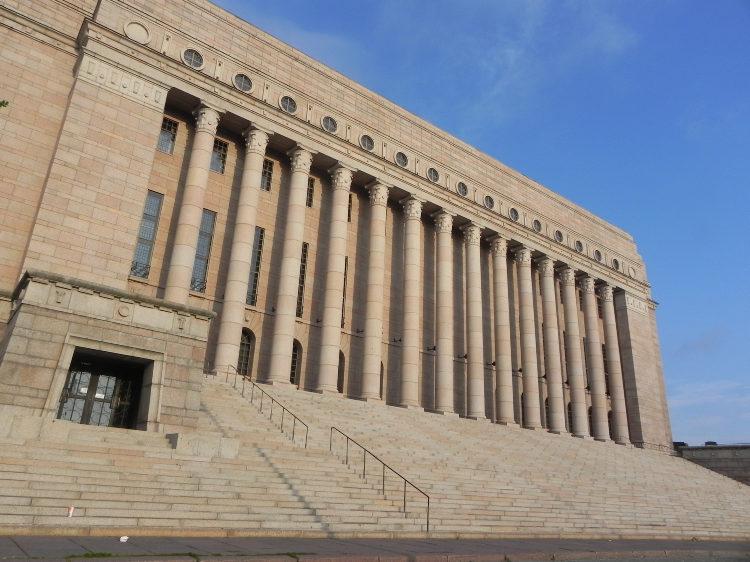 Здание Парламента Финляндии