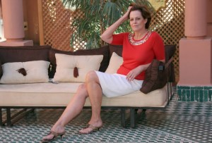 US actress Sigourney Weaver poses during