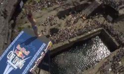 Британец Гэри Хант победил на этапе чемпионата по клифф-дайвингу