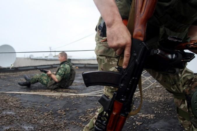 Украина, ополчение, химзавод