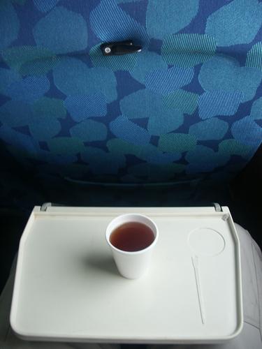 кофе, самолёт