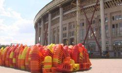 В Москве проходит масштабная реконструкция стадиона Лужники