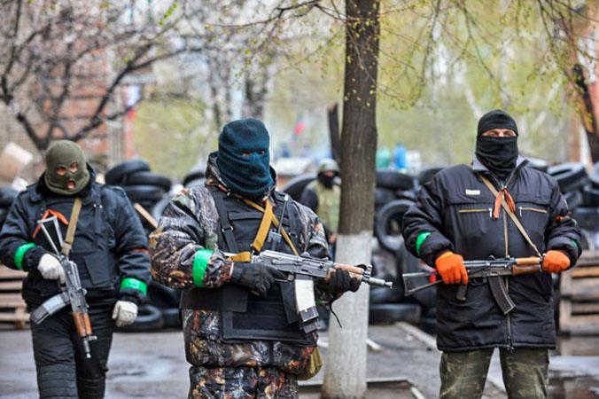 Украина, ополчение