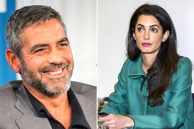 знаменитости, Джордж Клуни, Аманда Аламуддин