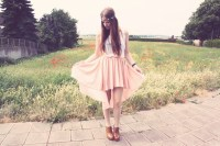 мода, юбка, шлейф