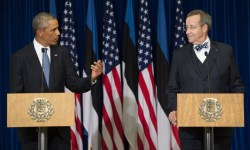 Эстония, НАТО, Обама