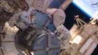 Члены экипажа МКС вышли в открытый космос