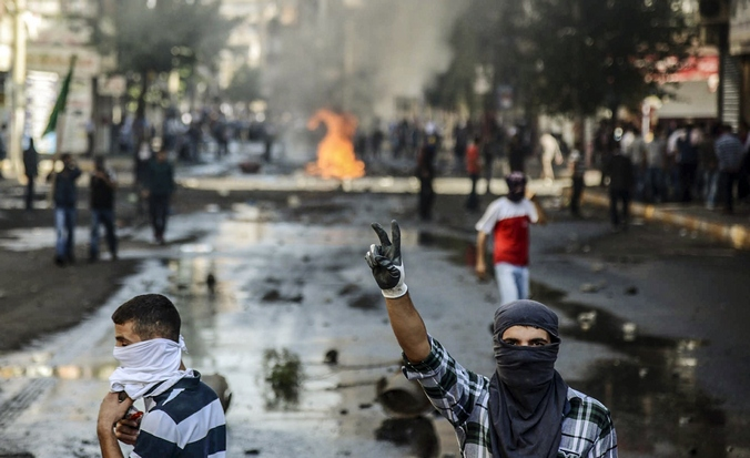 курды, Турция, протест