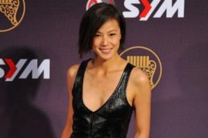 Гонконгская певица Дениз Хо прибыла на 25-ю церемонию Golden Melody Awards в Тайбэй, 28 июня 2014 года. Фото: Mandy Cheng/AFP/Getty Images