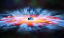 NASA опубликовало художественное изображение черной дыры