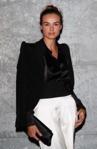 Giorgio Armani - Front Row - Milan Fashion Week Womenswear S/S 2013