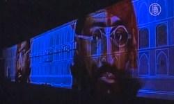 В индийском Джайпуре показали удивительное музыкально-световое шоу