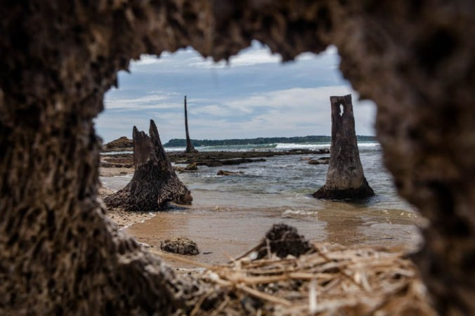 руины, Индонезия, землетрясение, фото дня, фото