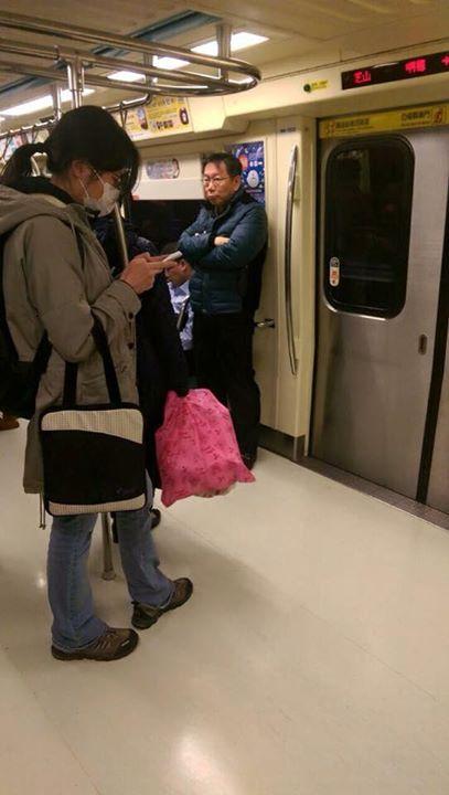 Ко Вэнь-цзе в метро