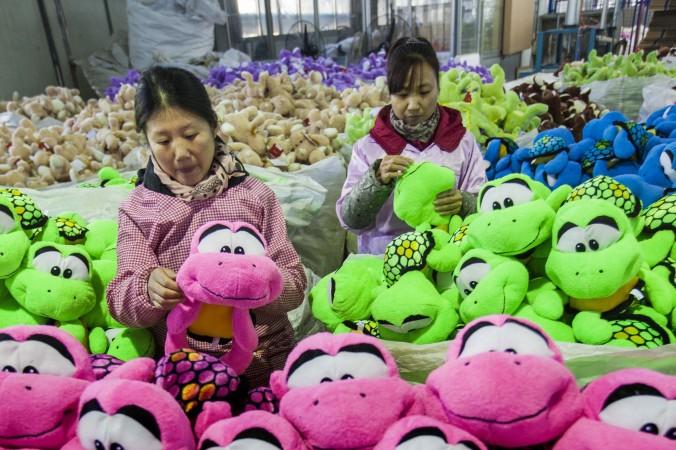 китайская фабрика