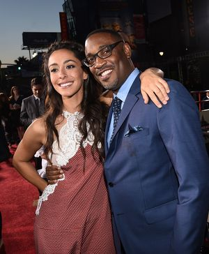 """HOLLYWOOD, CA - APRIL 06:  Actress Oona Chaplin (L) and director George Tillman Jr. attend the premiere of Twentieth Century Fox's """"The Longest RIde"""" at the TCL Chinese Theatre IMAX on April 6, 2015 in Hollywood, California.  (Photo by Michael Buckner/Getty Images)"""