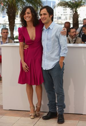 "CANNES, FRANCE - MAY 18:  Actors Alice Braga and Gael Garcia Bernal attend the ""El Ardor"" photocall at the 67th Annual Cannes Film Festival on May 18, 2014 in Cannes, France.  (Photo by Neilson Barnard/Getty Images)"