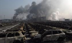 Взрывы в Тяньцзине