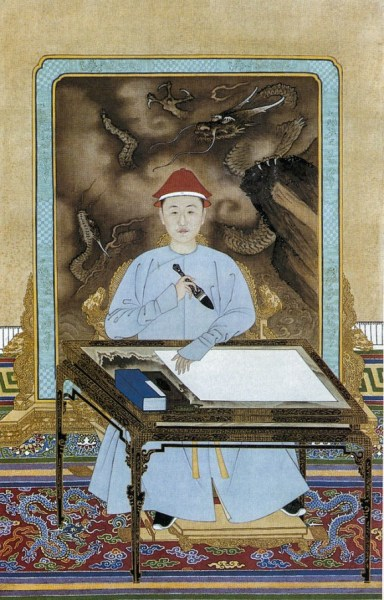 655px-Emperor_Kangxi_at_his_desk-580x907