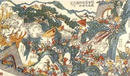 General-Liu-Yongfu-fighting