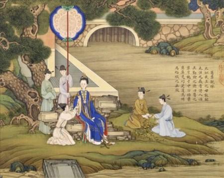 Иллюстрация к стихотворению «Встреча невесты». Иллюстрация: Xin Yuan/Yun Shang/Epoch Times