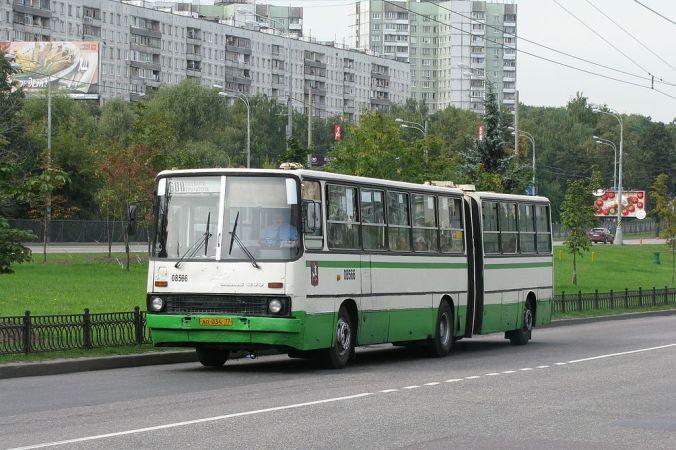 автобус, общественный транспорт, Москва, транспорт Москвы, Икарус
