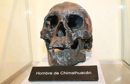 Skull-of-Chimalhuacan-Man