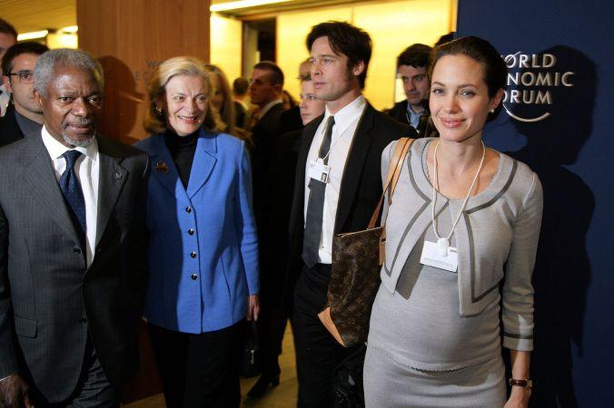 Анджелина Джоли, Брэд Питт