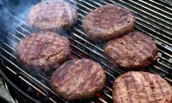 котлета, гриль, мясо, стейк