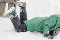 снег, ноги, обувь