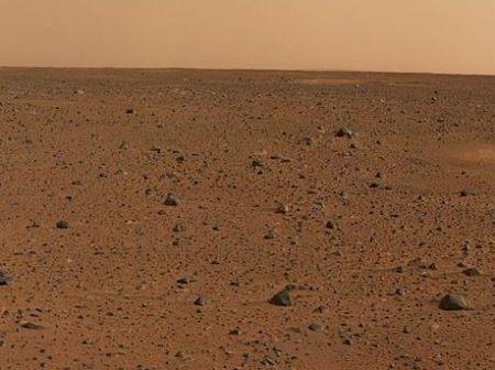 Панорама кратера Гусева. Фото: NASA