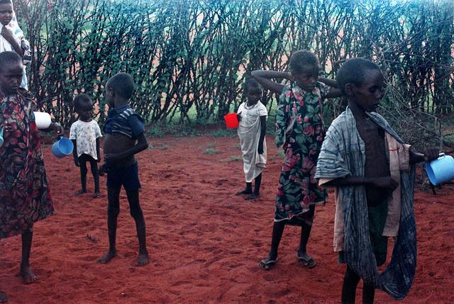 Африканские дети. Фото: John Martinez Pavliga/flickr.com/CC BY 2.0