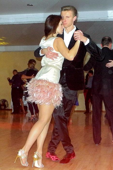 Танцует Дмитрий Новиков. Фото: Алла Лавриненко/Великая Эпоха