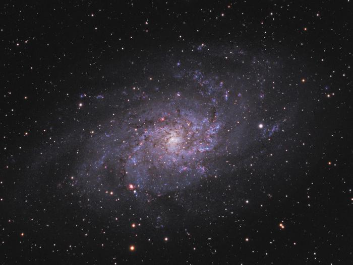 Галактика треугольника. Фото: NASA