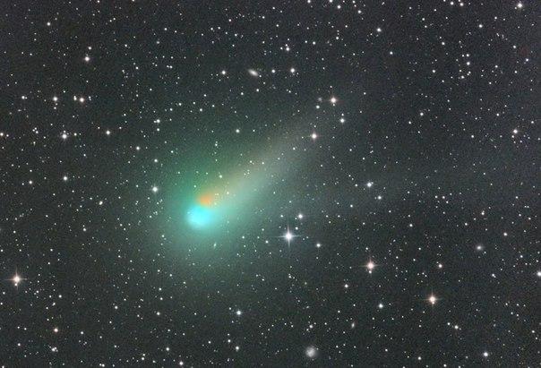 Комета Каталина. Фото: NASA
