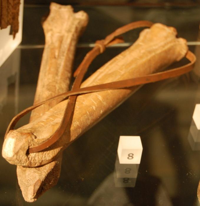 Средневековые коньки в Лондонском музее. Фото: Стивен Джонсон/kk.wikipedia.org/CC BY-SA 3.0