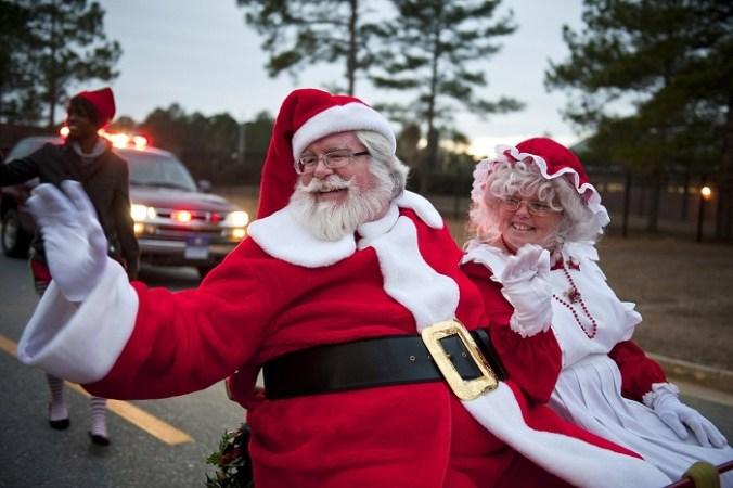 где олени Санта-клауса