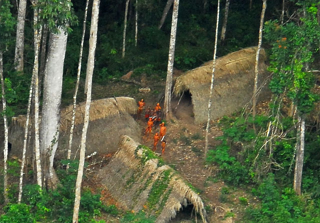 Дикие индейцы в Бразилии. Фото: Gleilson Miranda/wikipedia.org/CC BY 2.0