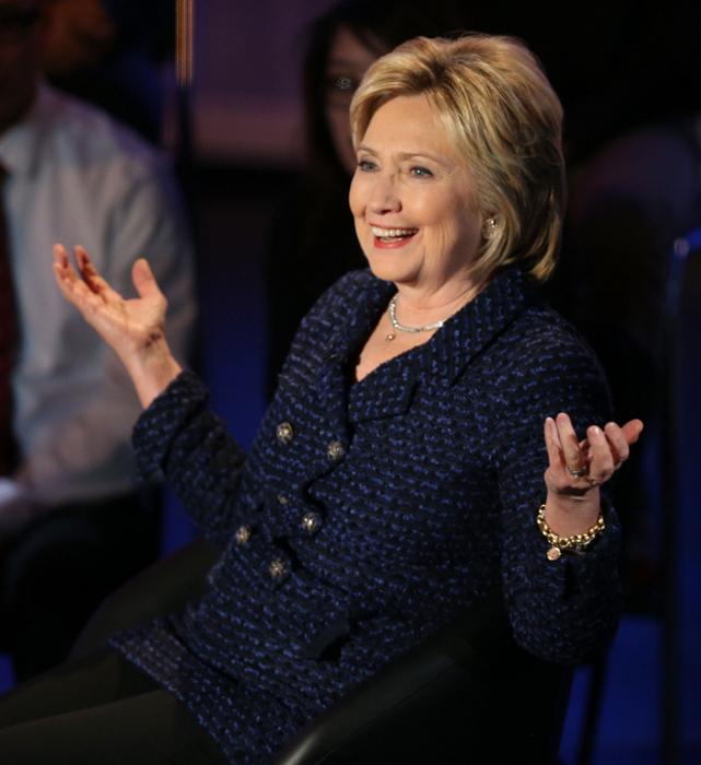 Хилари Клинтон. Фото: Joe Raedle/Getty Images