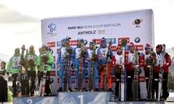 24 января российские биатлонисты выиграли эстафету на шестом этапе Кубка мира по биатлону, проходящем в итальянской Антерсельве