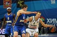 29 января, баскетболисты подмосковного клуба Химки обыграли литовский «Жальгирис»