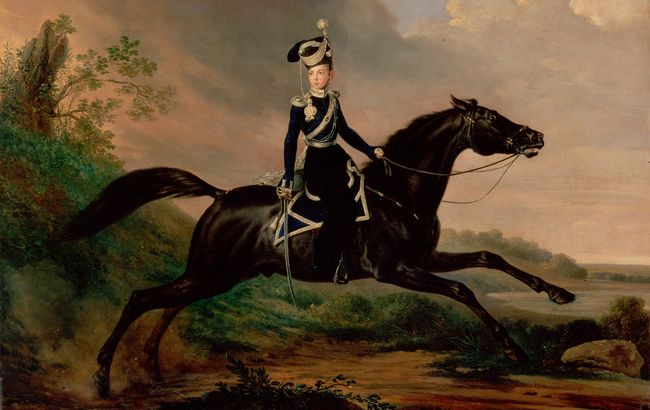 Kruger,_Franz_-_Equestrian_Portrait_of_Grand_Prince_Alexander_Nikolayevich