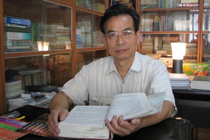 Чжан Цзаннинг, китайский адвокат и лектор права в Юго-восточном университете в Нанкине. Фото предоставил Чжан Цзаннинг