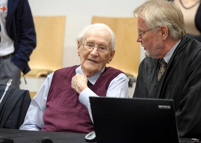 «Бухгалтер Освенцима» Оскар Гренинг. Фото: Hans-Jurgen Wege - Pool/Getty Images